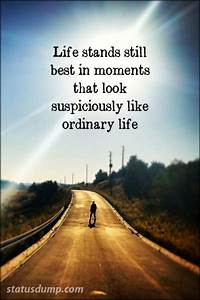Ordinary Life Quotes. QuotesGram