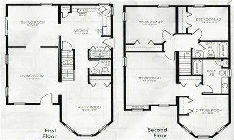 4 bedroom floor plans 2 4 bedroom 2 house plans 2 master bedroom two