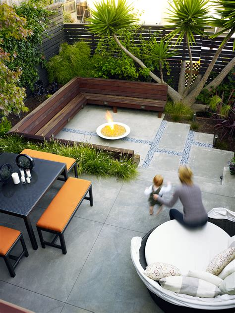 Designs For Backyard by Is Your Yard Or Garden Small On Space Get Big Ideas For