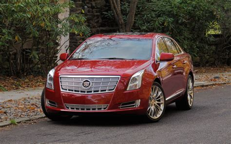 driven  cadillac xts automobile magazine