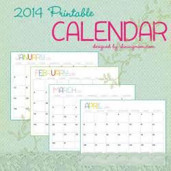 Free Printable Calendars Com 2014