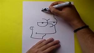 Como dibujar a Bart simpson paso a paso - Los Simpsons ...