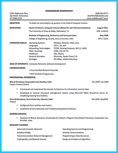 Resume Builders In College best current college student resume with no experience