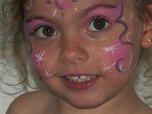 Maquillage Simple Enfant : maquillage papillon fillette ~ Farleysfitness.com Idées de Décoration