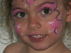 Maquillage Simple Enfant : maquillage papillon fillette ~ Melissatoandfro.com Idées de Décoration