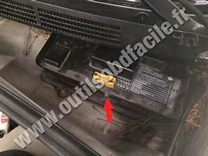 Obd2 Connector Location In Audi 80  B4