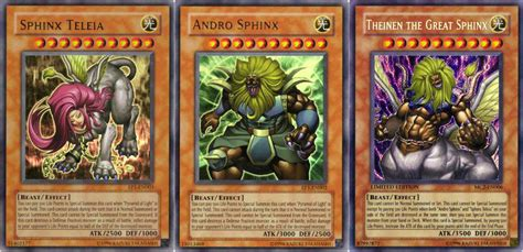 Sphinx Smackdown!  Casual Yu Gi Oh With Andi