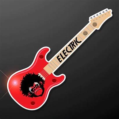 Guitar Led Badge Blinking Flashing
