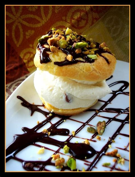 desserts by herme cannoli filled puffs august daring bakers challenge proud italian cook