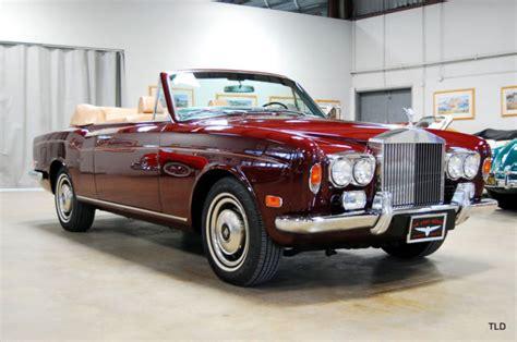 Rolls Royce Corniche 1972 1972 Rolls Royce Corniche For Sale Rolls Royce Corniche