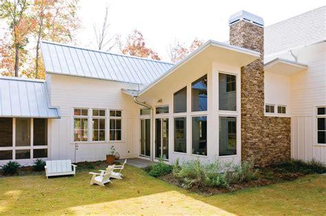 case study green modern farmhouse  alabama