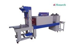 monarch appliances packaging machinery mild steel shrink wrapping machine bottle packaging