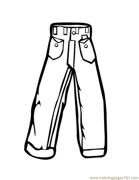 pants coloring page  pants coloring pages coloringpagescom