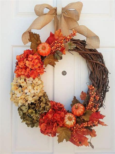 unique fall wreaths ideas  pinterest fall door