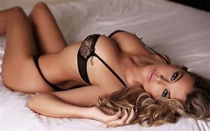 Brown Linen Bedroom Lying Wallpapers Panties Photographer