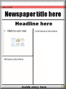 newspaper front cover template pcinfo