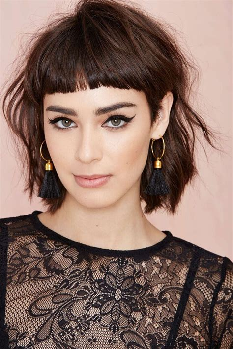womens haircuts with bangs 16 great shaggy haircuts for pretty designs
