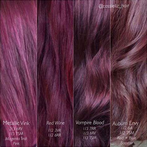 Hair Color Images With Names by Image Result For Mauve Hair Color Pink Hair In 2019