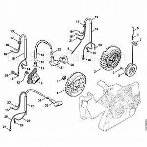 Stihl 026 Chainsaw  026  Parts Diagram  Ignition