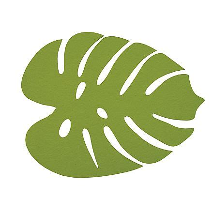annabel trends felt placemat  heart felt leaf