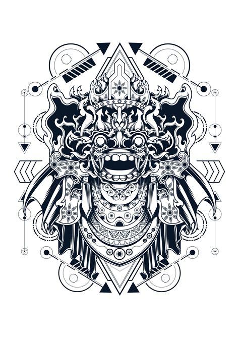 barong vector illustration - Download Free Vectors ...