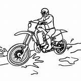 Coloring Pages Rzr Honda Drawing Dirtbike Getcolorings Printable Dirt Pa Getdrawings sketch template