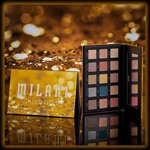 nuevas paletas gilded de milani cosmetics belleza para