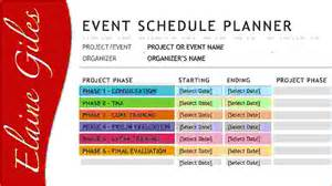 Template For Balance Sheet 4 Event Schedule Template Procedure Template Sle