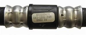2003 Kodiak C4500 Heater Hose Inlet Black