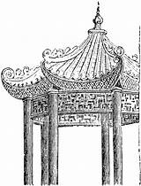 Pavilion Chinese Clipart Sketch Cliparts Etc Clip Library Construction Tiff Usf Ch2 Edu sketch template