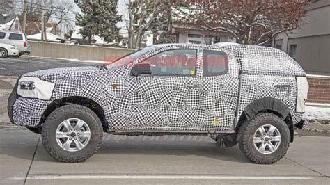 ford bronco prototype possibly spied autoblog