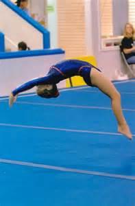 Gymnastics Back Handspring