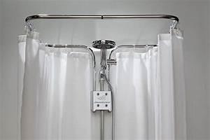Badzubehör Ohne Bohren : clevershower duschvorhangstange ohne bohren ebay ~ Watch28wear.com Haus und Dekorationen