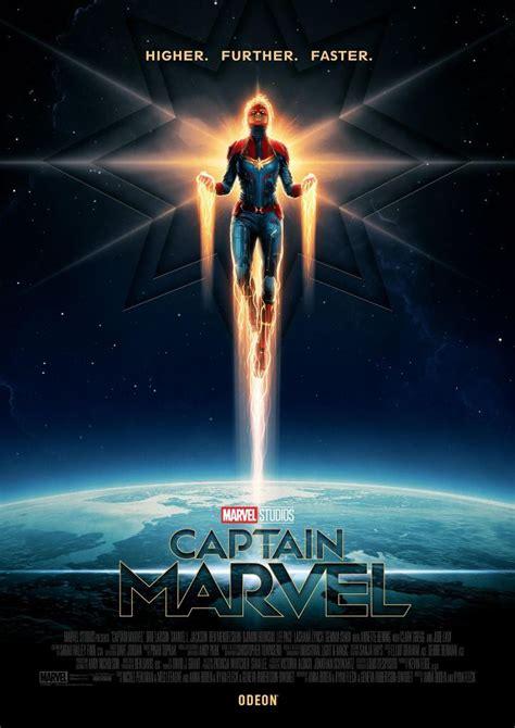 higher faster captain marvel posters