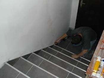 plinthes dans l escalier notre maison chantier jour apr 232 s jour