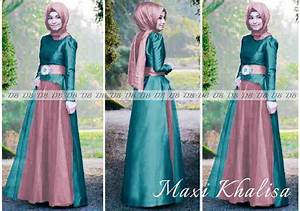 Model Jilbab Pesta Kain Tile 20 Model Baju Batik Muslim Modern