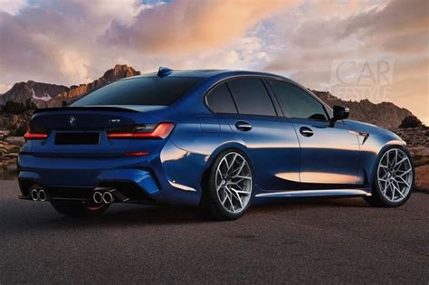 2020 Bmw M3 Rendered, Looks Good For A First Effort