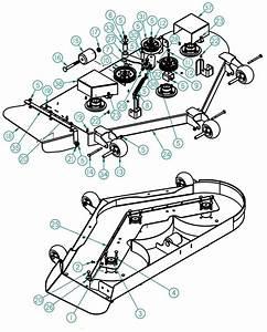 Dixie Chopper 2014 Zee 2 Hp Mower Deck 54 Inch Parts