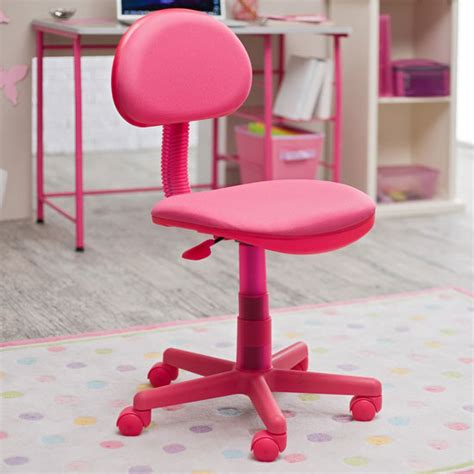 study zone ii computer desk chair pink girly design