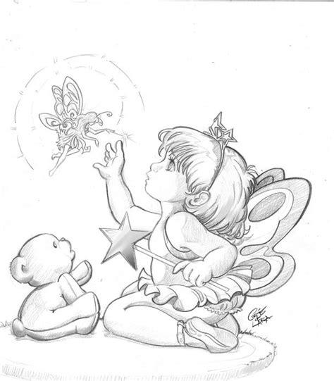 Little Fairy by *crisdelarastudio on deviantART digi
