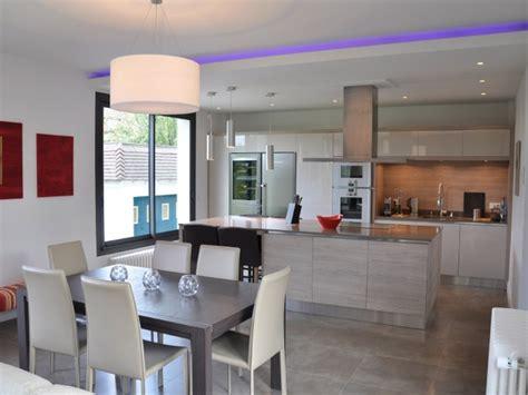 decoration salon avec cuisine ouverte deco salon cuisine ouverte best decoration avec ouverture