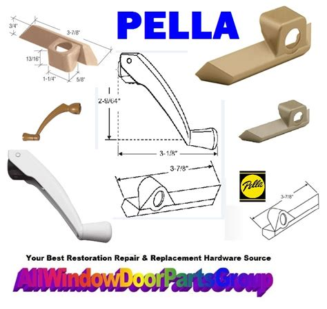 model pella window  patio door parts truth window hardware