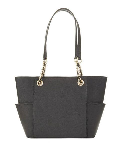 Klein Smart Satchel calvin klein leather satchel bag in black lyst
