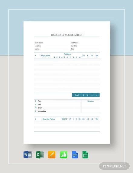 bowling score sheet templates   word  excel