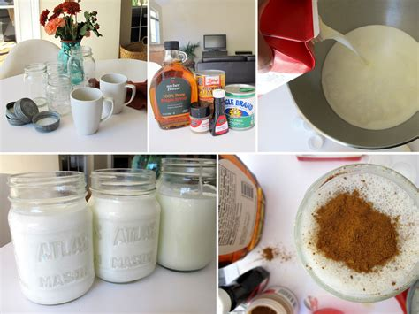 For some of us, it's that the rich, sweet taste of coffee creamer in our brew —a splash of milk or cream just doesn't do the trick. homemade holiday coffee creamers — Tag & Tibby