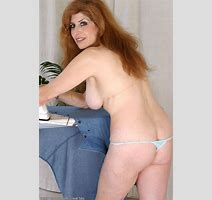 Foxy Red Headed Milf Spreading Her Tasty Mature Hairy Pussy Lips Pichunter