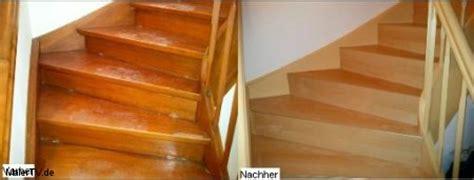 Holzlasur Vorher Nachher by Alte Holztreppe Schritt F 252 R Schritt Sanieren Und