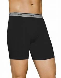 Fruit Of The Loom Men S Black Grey Boxer Briefs X Sizes