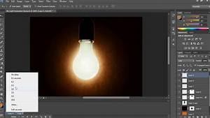 Light bulb animation in photoshop cs6 youtube for Lamp light photoshop