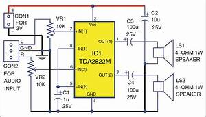 Build Your Own Stereo Amplifier Using Tda2822